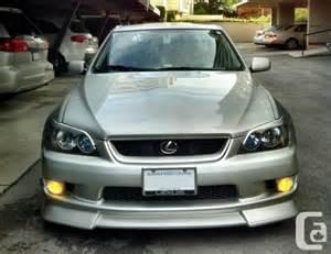 2001 Lexus IS300 Silver