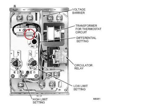 quot modifed quot wiring on l8124a c l8151a aquastat