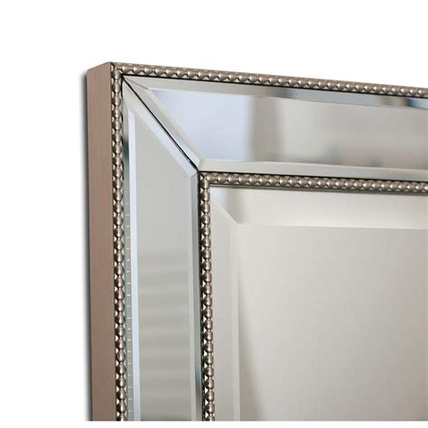 Deco Bathroom Mirror Cabinet by Deco Mirror 16 In W X 26 In H X 5 In D Framed Single