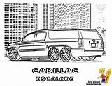 Coloring Cool Cars Pages Limousine Escalade Sheets Cadillac Truck Boys Yescoloring Alphabet Dodge Template Drawings Supercar Dynamic Ice sketch template