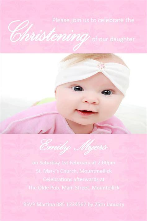 baptism invitations for girl Baptism invitations girl
