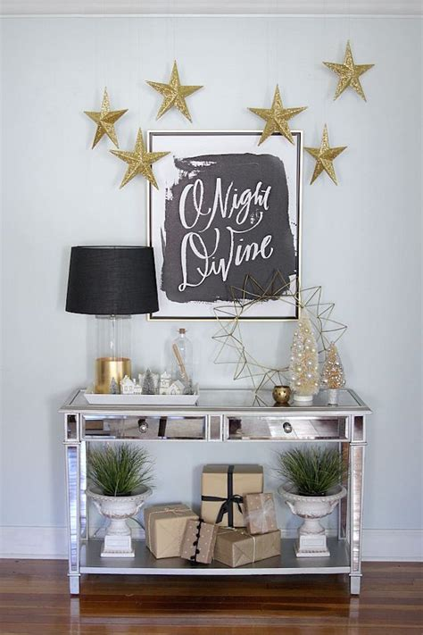 top  elegant black  gold christmas decoration ideas
