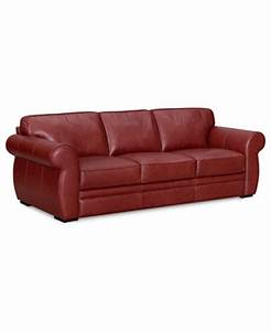 carmine leather sofa furniture macy39s With macy s sectional sofa leather