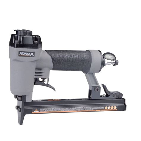 Electric Upholstery Stapler Home Depot by Numax Pneumatic 22 Upholstery Stapler Sc22us The