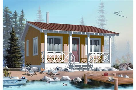 Small Vacation Home Plans by Small House Plan Tiny Home 1 Bedrm 1 Bath 400 Sq Ft