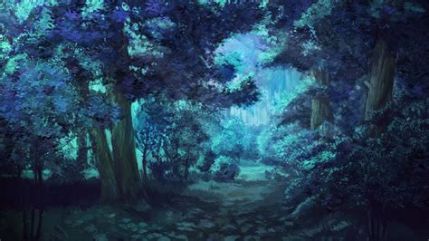 everlasting summer forest night trees wallpapers hd