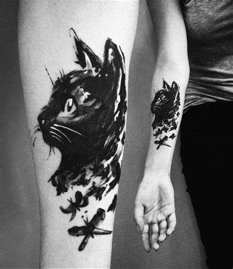 cat tattoo ideas  bored panda