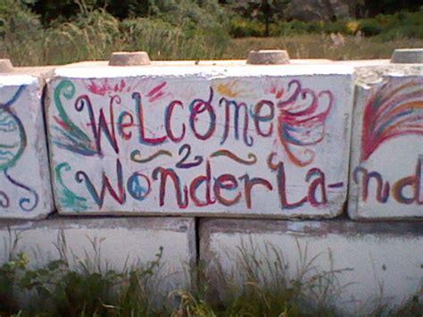 Graffiti Welcome : Welcome 2 Wonderland By Severflameskullrage On