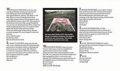 Woodstock They Where Magazine