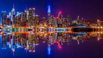 York Usa Building Wallpapers River Skyscraper Cities