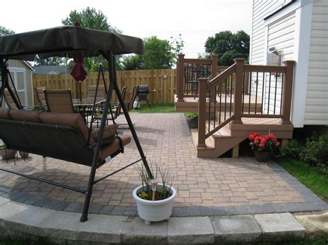 design a pool deck or patio outdoor landscaping ideas
