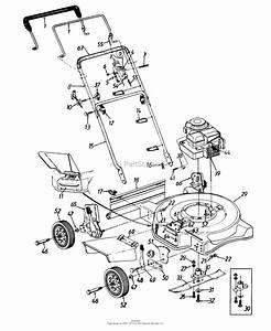 Lawn Chief Mower Parts Diagram