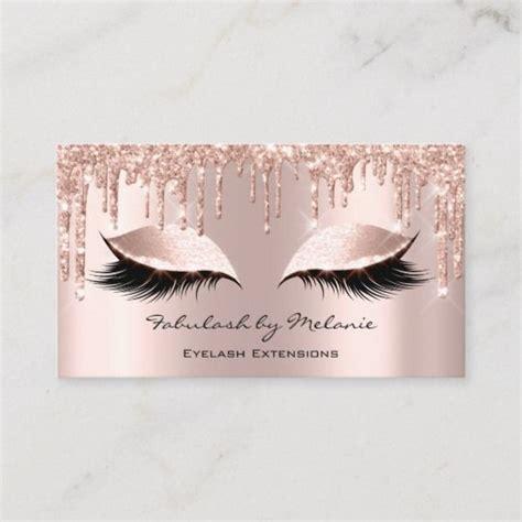 makeup artist eyes lashes glitter drips rose gold business