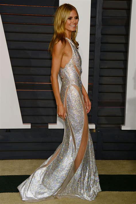 Heidi Klum Vanity Fair Oscar Party Hollywood