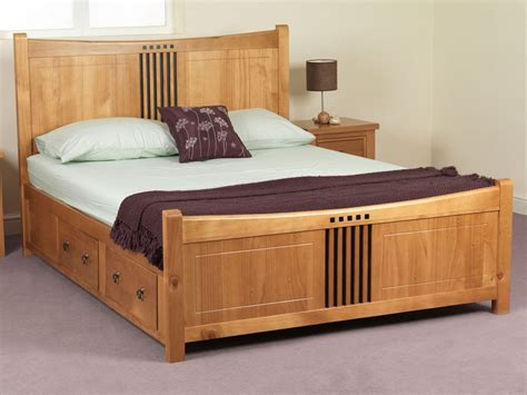 Waterbed Headboards King Size by Double Bed Designs In Wood Decorate My House