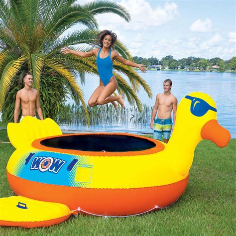 giant inflatable water trampolines      summer