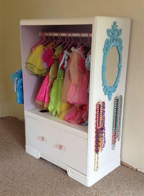 dresser turned   dress  closet   dress