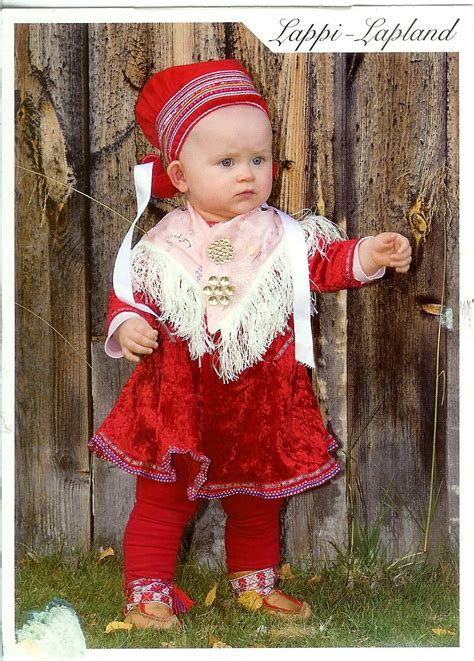 Lapland Finland Traditional Dress