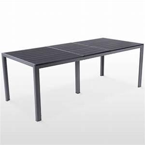 Table Jardin Composite : salon de jardin aluminium composite pour 8 personnes ~ Teatrodelosmanantiales.com Idées de Décoration