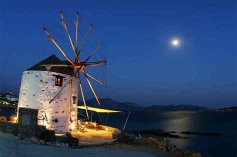 5 Greek Windmill Hotels Overlooking the Aegean Sea