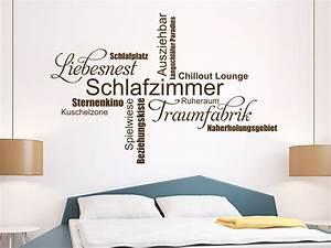 Wandtattoo Wall Art : wandtattoo schlafzimmer wortwolke traumfabrik wandtattoo de ~ Sanjose-hotels-ca.com Haus und Dekorationen