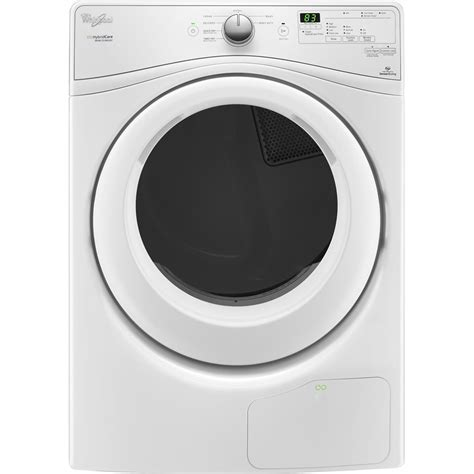 Whirlpool   7.4 Cu. Ft. 7 Cycle Electric Dryer   White at