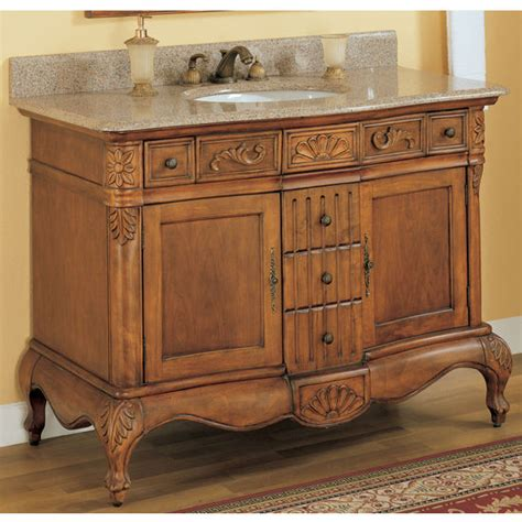 bathroom vanities  yorktown vanity  hand carved