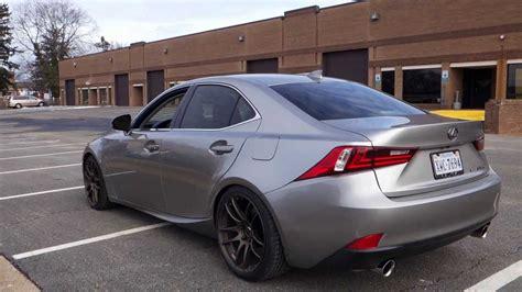 Lexus Is F 0 60 by 2014 Lexus Is350 F Sport Exhaust Acceleration