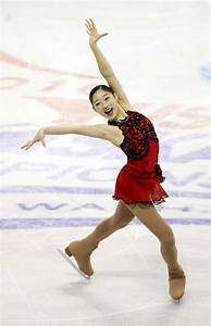 Mirai Nagasu Red Figure Skating Ice Skating Dress