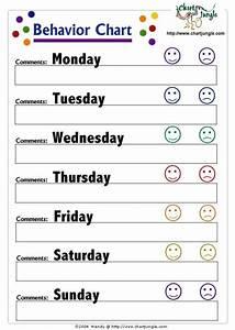 weekly behavior chart printable beneficialholdingsinfo With monthly behavior calendar template