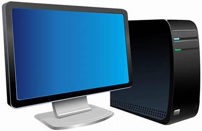 Computer Transparent Clipart Clip Cartoon Tech Cliparts