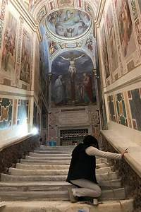Restoration Of Holy Stairs Lets Visitors To Rome Follow In