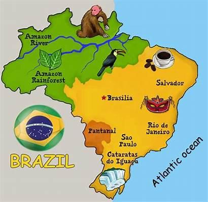 Brazil Things Travel Map Brazilian Rainforest Know