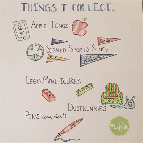 things to collect listifylife things i collect shannon stacey