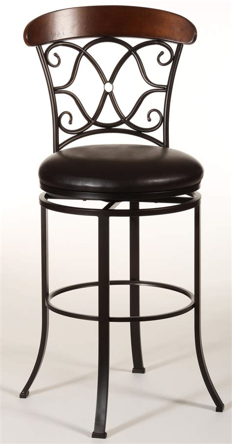 Dundee Swivel Counter Stool By Hillsdale  Wolf And