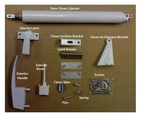 screen door parts white door hardware set for mobile home manufactured