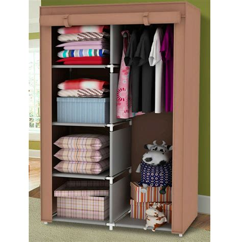 Closet Closet Organizer by 34 Quot Portable Wardrobe Clothes Storage Bedroom Closet