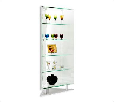 Curved Glass Curio Cabinet By Chintaly by Curved Glass Curio Cabinets Glass Curio Cabinet