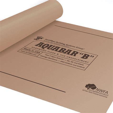 """Aquabar """"B"""" Paper Underlayment   Wood Floor Underlayment"""