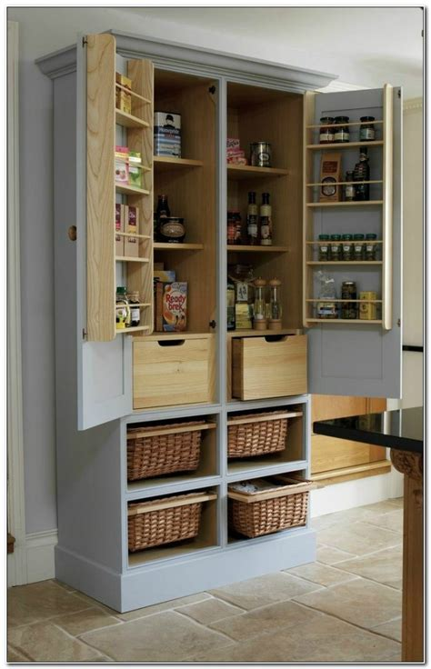 free standing kitchen storage ideas kitchen storage cabinets free standing cabinet home 6727