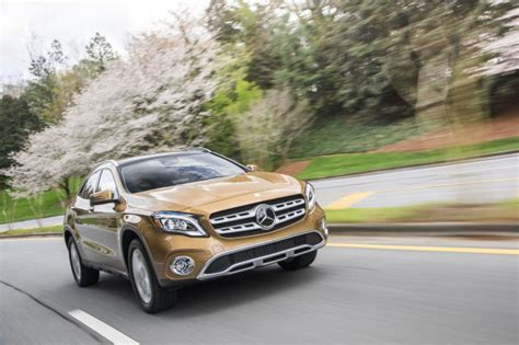 mercedes gla 2019 2019 mercedes gla class review ratings specs