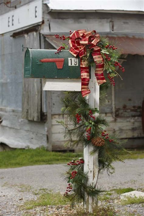 23 best christmas mailboxes images on pinterest