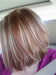 Brown hair with red and blonde highlights | Short hair ...