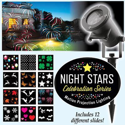 night stars celebration series light projector