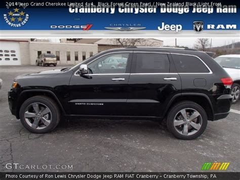 green jeep cherokee 2014 black forest green pearl 2014 jeep grand cherokee