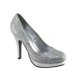 silver bridesmaid shoes candice 396 by touch ups silver bridesmaid or shoes new