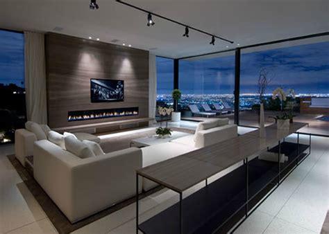 Luxury Modern Living Room Interior Design Of Haynes House
