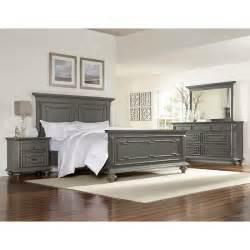 asher lane gray 6 piece queen bedroom set