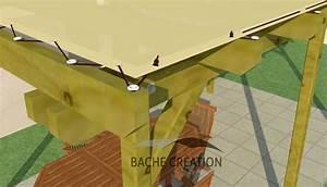 Bache Pour Pergola : fixation bache pergola taille haie tracteur occasion ~ Melissatoandfro.com Idées de Décoration