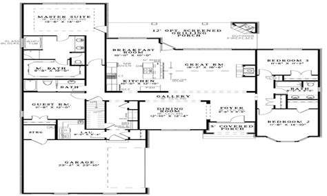 open floor plan house plans one best small open floor plans open floor plan house designs